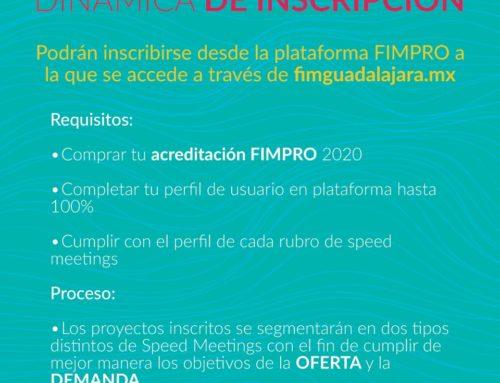 SpeedMeetings convocatoria cierra 26/04